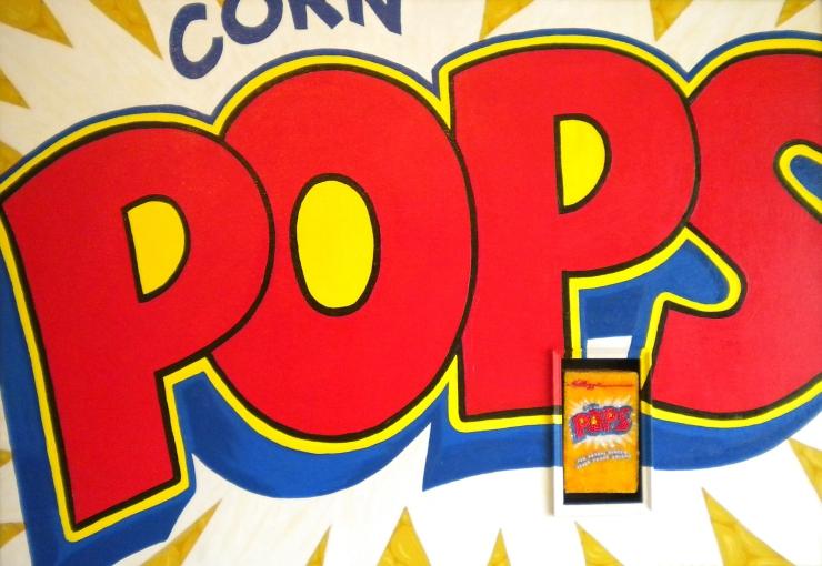 Linda Dolack Corn Pops Reliquary