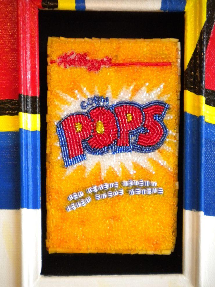 Linda Dolack Corn Pops Reliquary Detail
