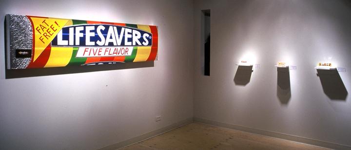 Linda Dolack Lifesavers Reliquary